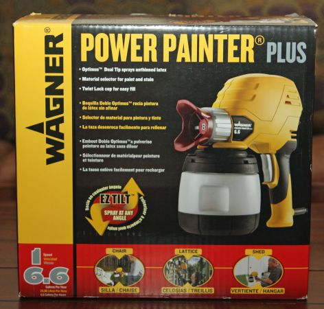 Wagner Power Painter Plus 6.6 GPH with EZ Tilt Technology NEW - $60 (36th Ave and Pinnacle Peak)