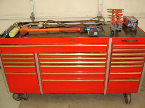 SNAP ON KRL7003B TRIPLE ROLL CAB WITH COMPLETE TOOL SET - $8500 (NW TUCSON)