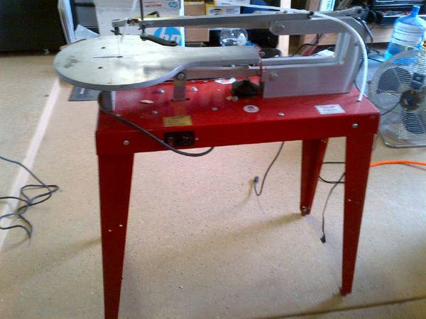 RBI Hawk 26 Variable Speed Scroll Saw Barter or Sale - $375 (Valley)