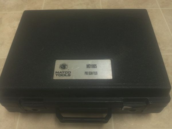 Matco Pro Scan Plus - $275 (west valley)