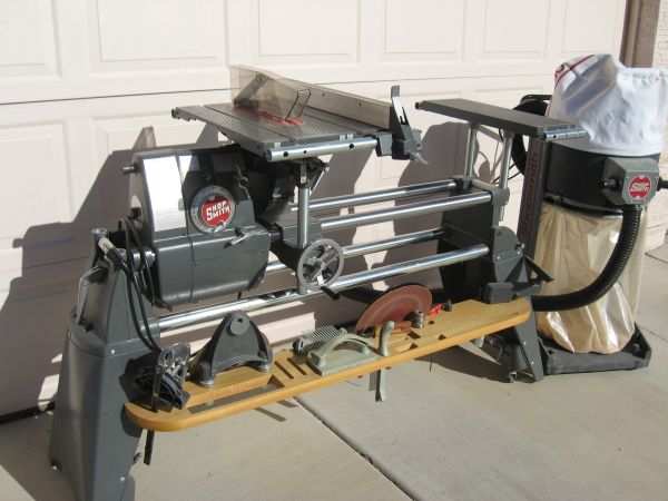 Shopsmith mark 510 with attachments - $1499 (Peoria)