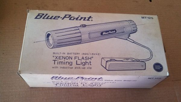 $60 - BRAND NEW IN BOX timing light blue-point MT125 - $60 (87th ave and bell rd peoria)