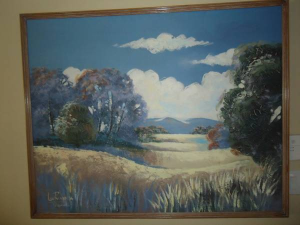 Lee Reynolds (Beautiful Landscape) Painting - $225 (mesa)
