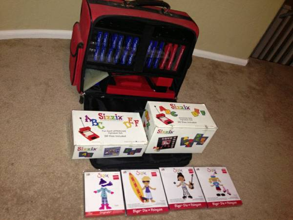 Original Sizzix Machine Dies Case - $200 (East Valley)