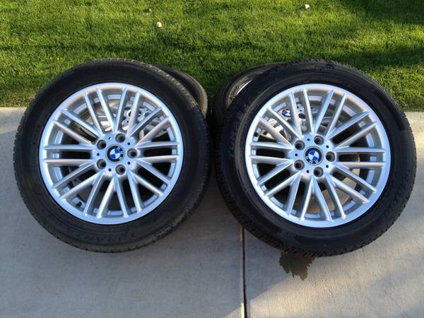 BMW OEM 18 745i, 745Li, 750i, 760 rims (with tires) - $800 (Ahwatukee)