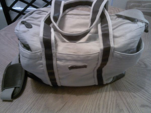 Good Conditioneddie bauer baby bag,toddler shoes - $30 (Phoenix)