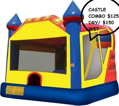 BOUNCE HOUSE WITH A SLIDE - $125 (WEST VALLEY)
