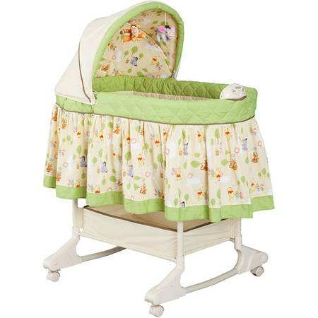 Used Disney - Happy Day Pooh Rocking Bassinet - $60 (Close to Downtown Gilbert)
