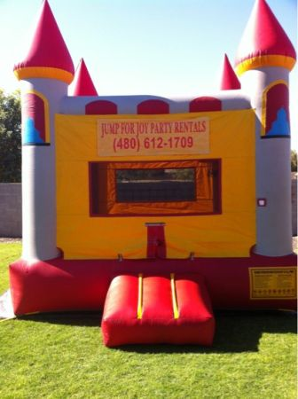 Jumpers, Front Slide Combo, Tables Chairs for rent - $80 (Mesa)