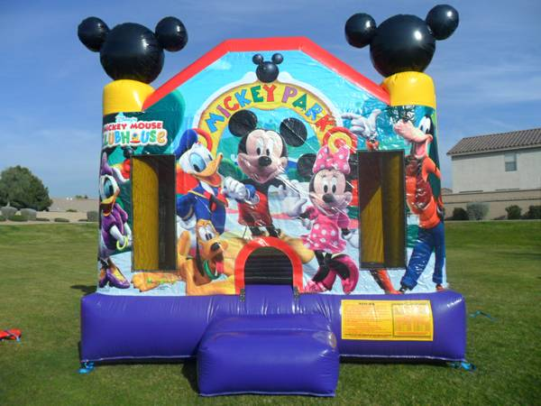 MESAS BRINCA BRINCA SILLAS BOUNCER TABLES JUMPER CHAIRS PARTY RENTAL (East Valley)