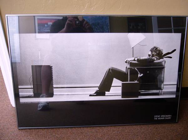 Framed print of Steve Steigman Blown Away - $100 (Tempe)