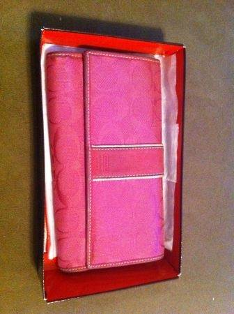 Coach Signature Wallet - Hot Pink - $30 (West Mesa)