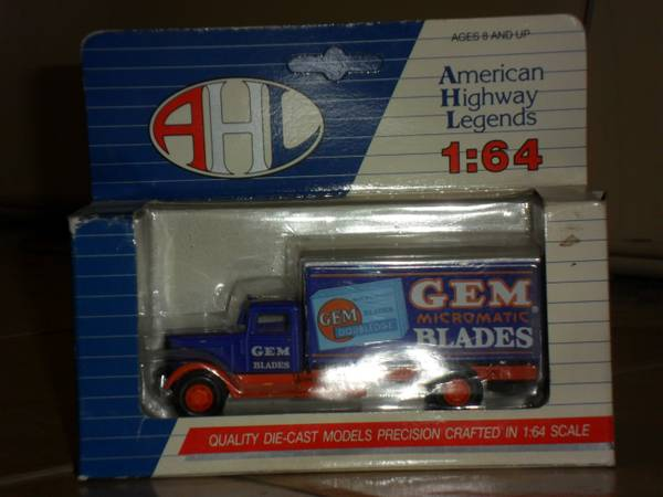 American Highway Legends Die Cast collectible truck - $25 (Osborn and 36th St)