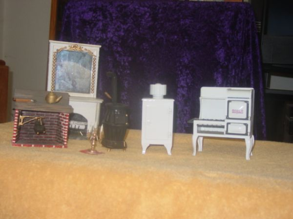 Miniature Doll house and Furniture Collection - $500 (Maricopa Area)