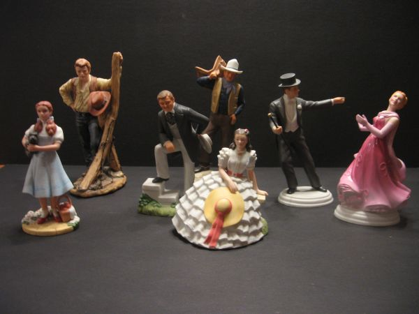 Avon Images of Hollywood Porcelain Figurines - Complete Set - $50 (Surprise)
