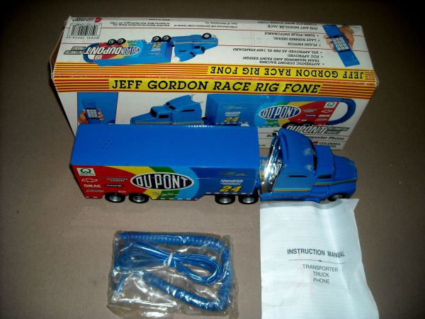 JEFF GORDON BIG RIG TELEPHONE, Collectible NASCAR Race Rig Phone NIB - $20 (North Scottsdale)