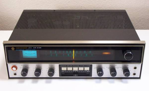 Vintage Kenwood KR-4140 Stereo Receiver - $90 (Fountain Hills - 85268)