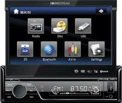 NEW 7 TOUCHSCREEN TV DVD CD CAR STEREO flip out OR dbl din - $179 (power rd and main )