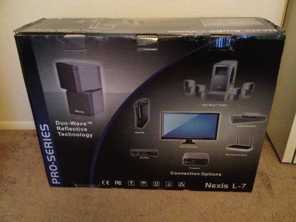 Nexis L7 home theatre system - $600 (gilbert)