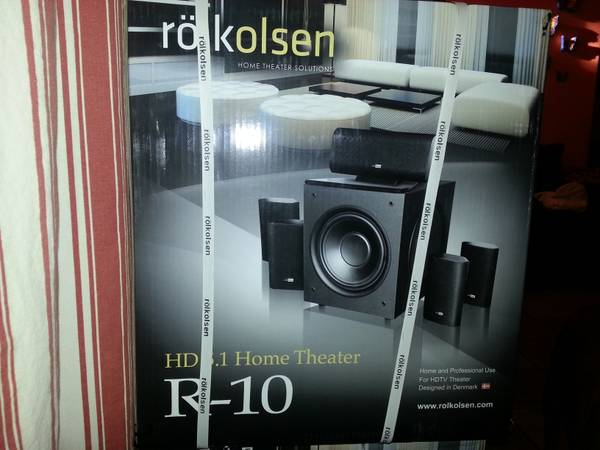 Rolkolsen R-10 Hd 5.1 Home Theater Surround sound - $1000 (PHOENIXGLENDALE)