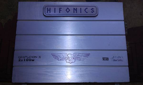 HiFonics centurionX 21channel selling for cheap $,obo