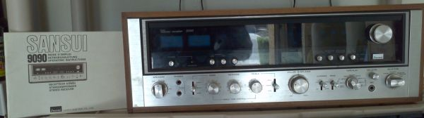 Vintage Sansui 9090 with ESS AMT 1 Tower Speakers - $1095 (Ray Rural Rd)
