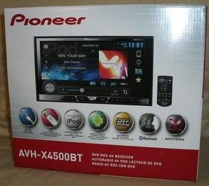 Pioneer AVH-X4500BT - BRAND NEW - Double Din, Bluetooth, DVD, APPMODE - $399 (Cooper and Guadalupe 480-704-3868)
