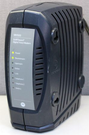Lower Price Motorola SBV5222 Voice Cable Modem - $20 (Mesa)