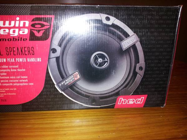 BRAND NEW Cerwin Vega HED 6.5 Speakers 2 Pairs - $50 (Gilbert)