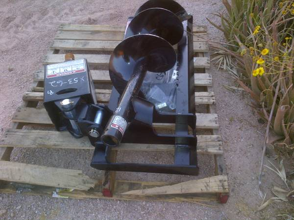 NEW BOBCAT,SKID STEER EARTH DRILL ATTACHMENT - $2100 (CAVE CREEK AZ)