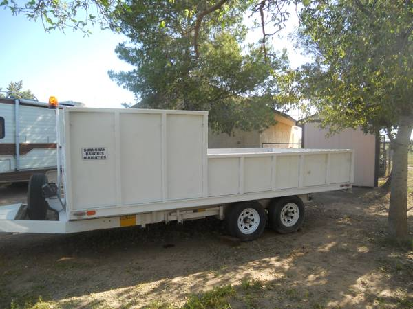 Fleming Dump Trailer - $1 (Queen Creek)