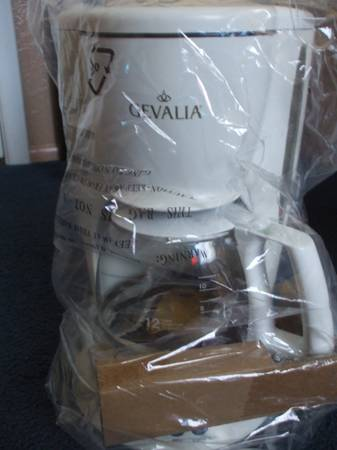 Gevalia Programmable 12-Cup Coffee Maker C-60A - $50 (32nd St. Bell Rd.)