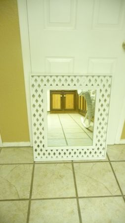 Beautiful Burwood Lattice Mirror - Great Shape Price (51st AVE Bell Rd.)