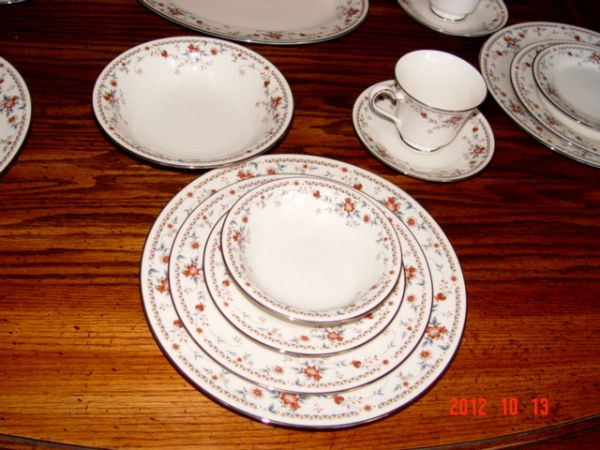 Dishes, Ivory China by Noritake - $475 (Litchfield Park)