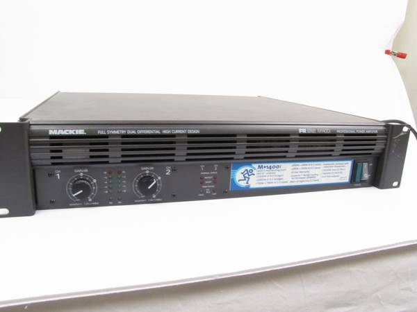Mackie Power Amp M1400i - $400 (west side)