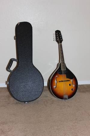Fender Acoustic Electric Mandolin and Hard Case - $150