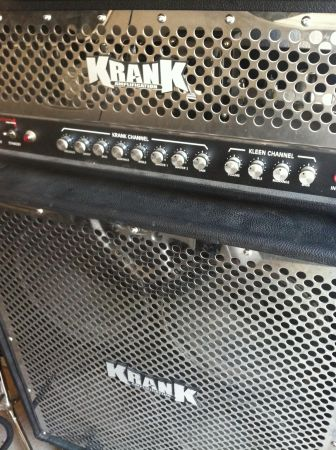 Krank Revolution 1 head and cabinet - $1000 (Mesa)
