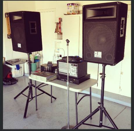 P.A. System - great buy OBO - $800 (chandler)