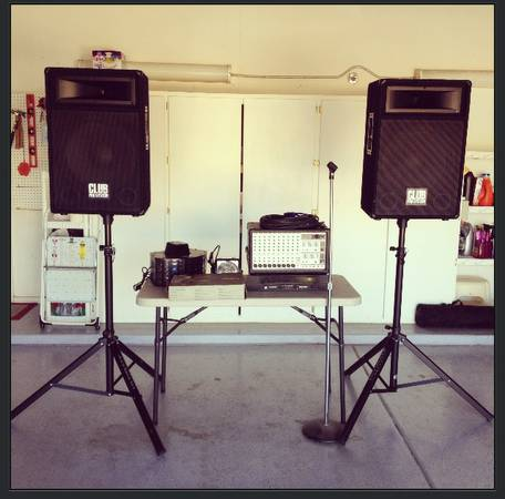 Professional P.A. System Rig W external Crown powered AMP - OBO - $825 (Chandler)
