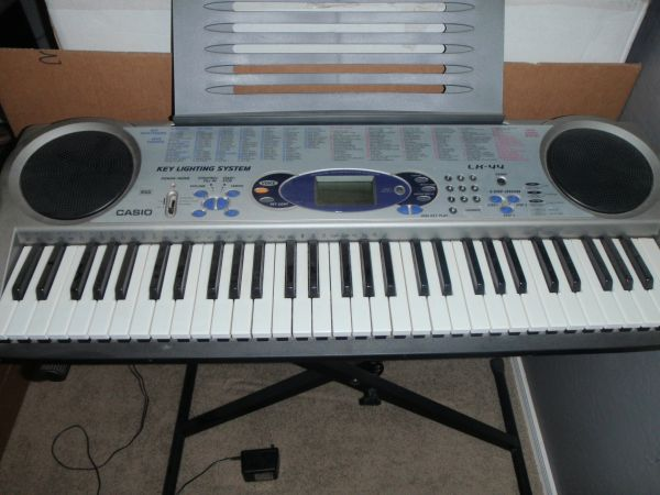 Casio LK-44 Lighted Keyboard For Sale - $50 (San Tan ValleyFlorence)