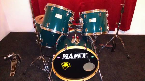 Mapex V SeriesPacific Double pedal and Drum Dial For Sale - $450 (Mesa)