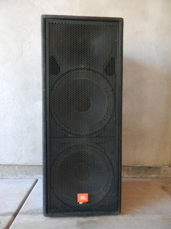 Sub Subwolfer JBL MPro MP225 Dual 15 Cabnet Only - $40 (40th Street Greenway)