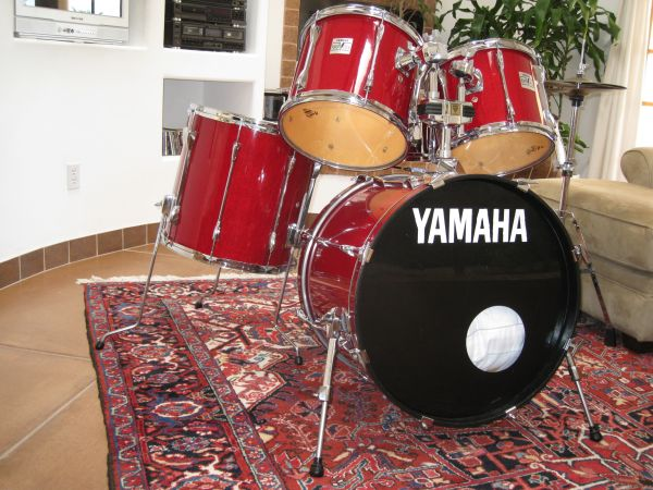 Yamaha - Power V Special Drums with Pearl double pedals - $760 (Carefree Hwy 7 th St.)