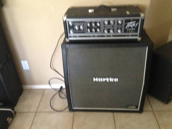 Peavey bass and Hartke half stack - $300 (Apache Junction)