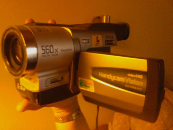 SONY Handycam (night vision upgraded model) - $150 (carefree hwy 7th ave)