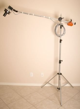 Norman 12-foot Light Stand Boom Arm - $80 (59th Ave Cactus)