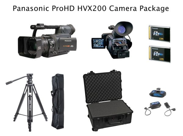 MINT CONDITION Panasonic HVX200 ProHD Video Camera Package. (Great Acc - $3900 (Scottsdale)