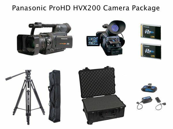 MINT CONDITION Panasonic HVX200 ProHD Video Camera Package. (Great Acc - $3500 (Scottsdale)