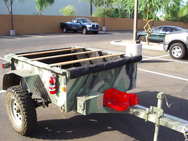 offroad utility trailer