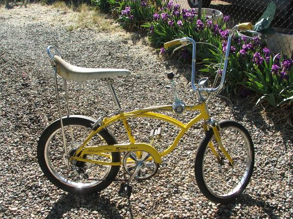 1972 schwinn stingray 5 speed - $500 (prescott)